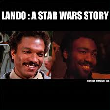 Lando Calrissian Meme - greek star wars geek on twitter seriously an excellent casting