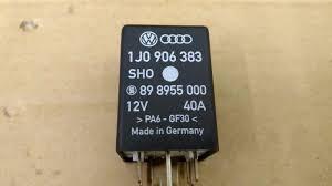 Sho Kafen volkswagen audi fuel relay oem 1j0906383 ebay