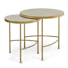 shagreen side table shagreen side tables shagreen end tables