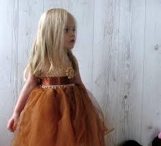 thanksgiving dresses for girls copper tutu baby dress copper flower dress crochet