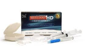 amazon com brilliant hd deluxe teeth whitening kit beauty