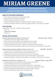 sample of summary of qualifications best receptionist resume examples 2018 for you