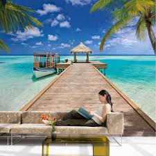 beach wall murals removable best decor things beach wall murals removable
