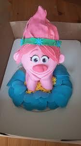 princess poppy trolls 3d cake cakecentral com