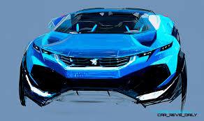 peugeot concept cars 2015 peugeot 308r hybrid