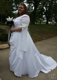 plus size wedding gown one of a kind renaissance elvish style