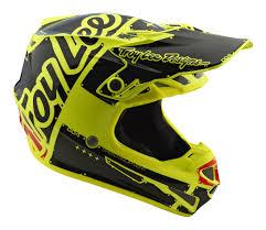 troy lee motocross gear troy lee designs 2018 se4 polyacrylite helmet factory all sizes