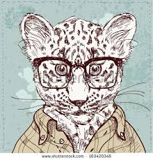 drawing sketch leopard pattern download free vector art stock