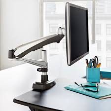 Convert Sitting Desk To Standing Desk by Sit Stand Desk Converter Workstation Solution