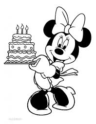 mickey mouse coloring pages happy birthday funny coloring