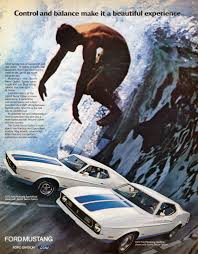 photo gallery forty years of ford mustang advertisements