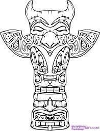 coloriage indien proyecto indios americanos pinterest