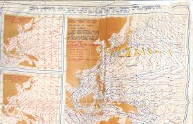 Personal World Map by Silk Wind And Current Map 1944 U2014 Picturing Meteorology