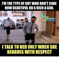 Single Guy Meme - i m the type of guy who don t care how beautiful or a richa girl