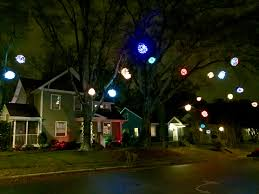 Lighted Yard Decorations Accessories Christmas Light Bulbs Outdoor Ball Ornaments Large