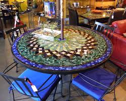 Patio Inspiration by Gallery Of Classy Mosaic Patio Tables On Interior Patio