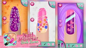 nail makeover girls game virtual beauty salon nail polish