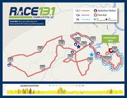 Charleston Sc Map Race 13 1 Charleston Half Marathon World U0027s Marathons