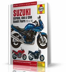 suzuki gsf600 gsf650 gsf1200 bandit 1995 2006 instrukcja