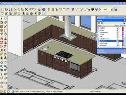 sketchup kitchen design home interior design