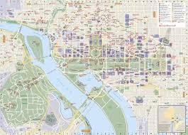Washington Dc National Mall Map by Washington D C National Geographic Destination City Map