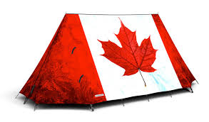 maple leaf u0027 canadian flag camping tent