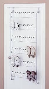 amazon com organize it all over the door 18 pair wire shoe rack