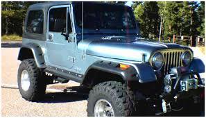 1982 jeep jamboree jeep cut out fender flare set of 4 oe matte black 10910 07