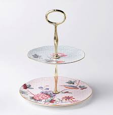 two tier cake stand wedgwood cuckoo 2 tier cake stand the table