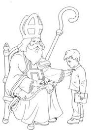 saint nicholas coloring december 6th