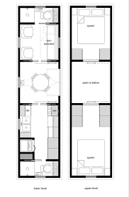 Small Home Floor Plans With Pictures Tiny House Floor Plans With Lower Level Beds Tiny House Design 20