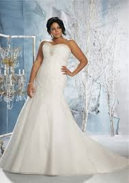 empire waist plus size wedding dress mermaid sweetheart empire corset back lace organza plus size