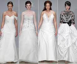 wedding dress for curvy wedding dress styles for curvy brides