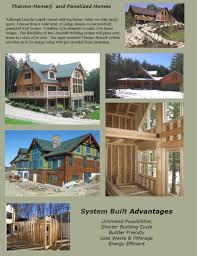 thermo home panelized homes the original lincoln logs thermo home panelized homes