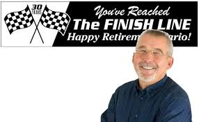 Home Design For Retirement Retirement Banners Custom Retirement Party Decorations