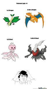 Pokemon Logic Meme - pokemon logic 13 pokémon amino