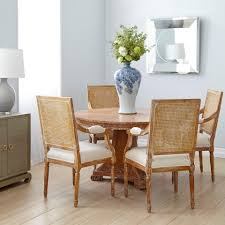 Dining Table Natural Wood Blair Center Dining Table Natural Bungalow 5