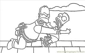 happy maggie simpson coloring page free maggie simpson coloring