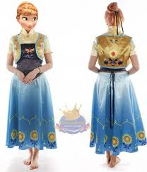 Anna Costume Frozen Fever Princess Anna Costume Cosventure