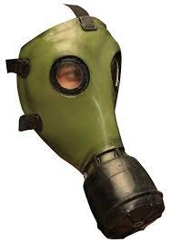 Gas Mask Costume Green Gp 5 Gas Mask