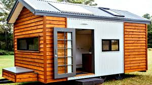 tiny house on wheels modern hybrid solar power system small home
