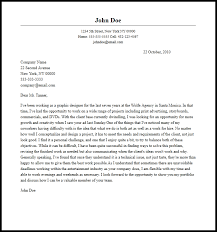 designing a cover letter professional graphic designer cover letter sle writing guide