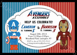 pictures about free printable captain america birthday invitations
