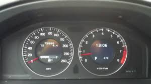 volvo s roll over odometer on volvo s 80 2013 youtube