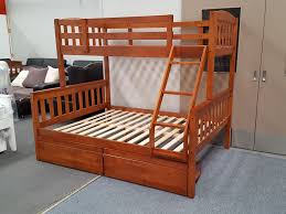 Bunk Bed Frames Solid Wood by Furniture Place Zara Double Single Bunk Bed In Antique Oak