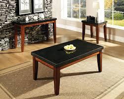 granite top end tables steve silver granite bello rectangular granite top cocktail table