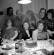 larry fink family thanksgiving joan snyders family new jersey 1972
