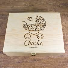 wooden baby keepsake box baby keepsake box personalised baby gifts omgmygift