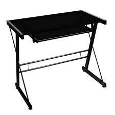 small glass computer desk expensive home office furniture