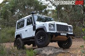 90s land rover land rover defender 90 review performancedrive